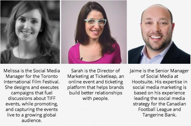 social media teams panelists