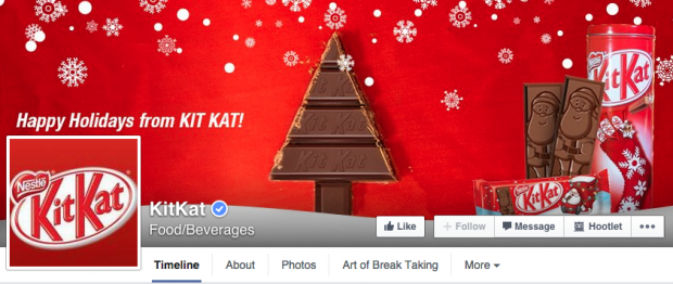 KitKat Facebook cover photo