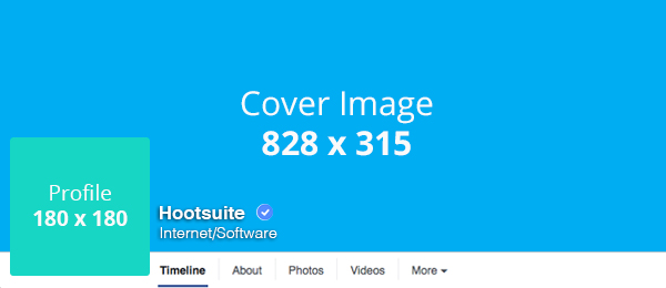 Social media templates - Suggested Facebook image dimensions