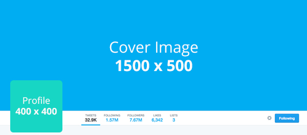 Social media templates - Suggested Twitter image dimensions