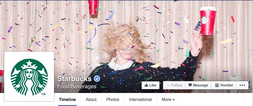 starbucks facebook cover
