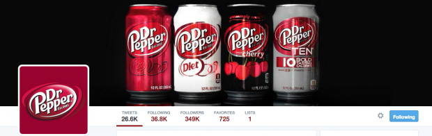 Dr.Pepper Twitter cover photos