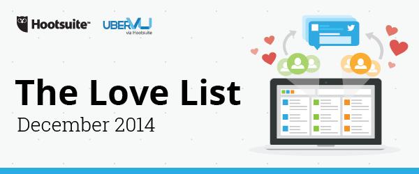 Love List December 2014