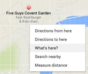 Google Maps Geocode Search