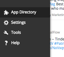 App Directory in Hootsuite