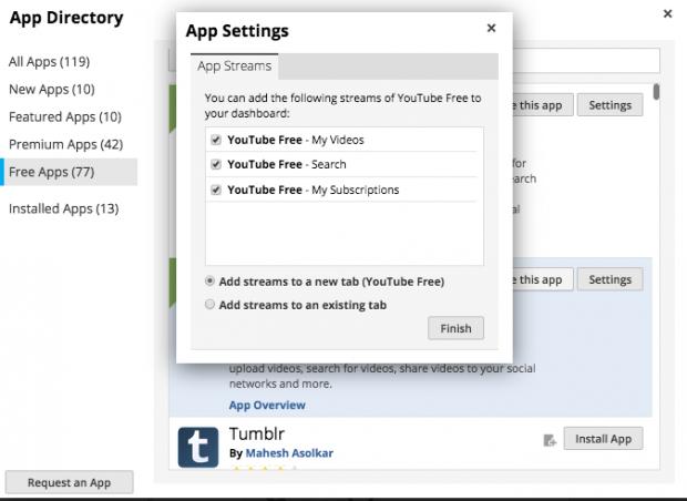 YouTube App Install