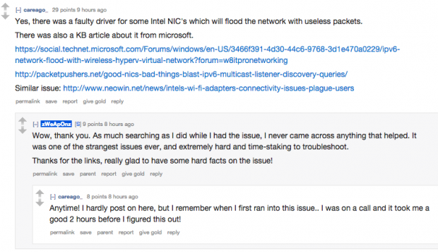 Tech-savvy redditors helping out their colleagues