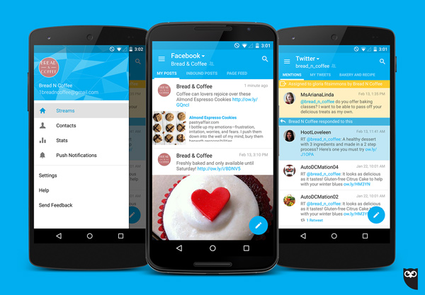 Hootsuite Android Update Screenshot