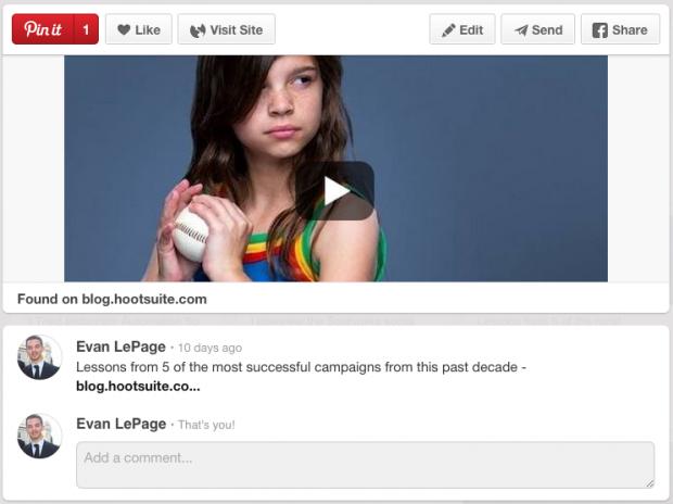 Pinterest Content Promotion