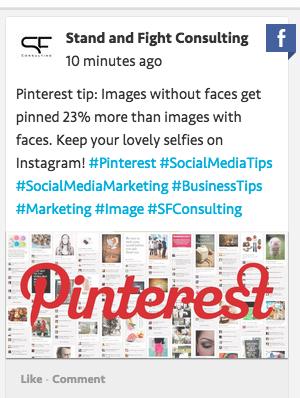 blog post ideas - pinterest tip hashtag tracking