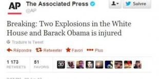 deux explosions à la Maison Blanche