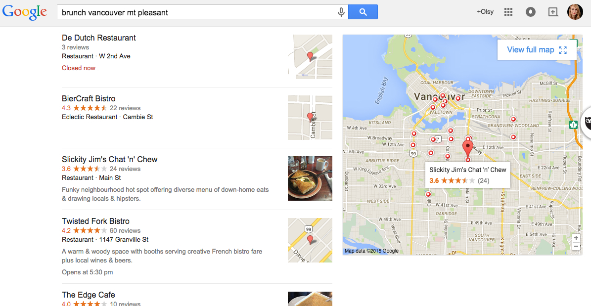 Google Reviews for small business