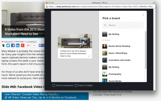 Best Google Chrome Extensions - Pinterest PinIt