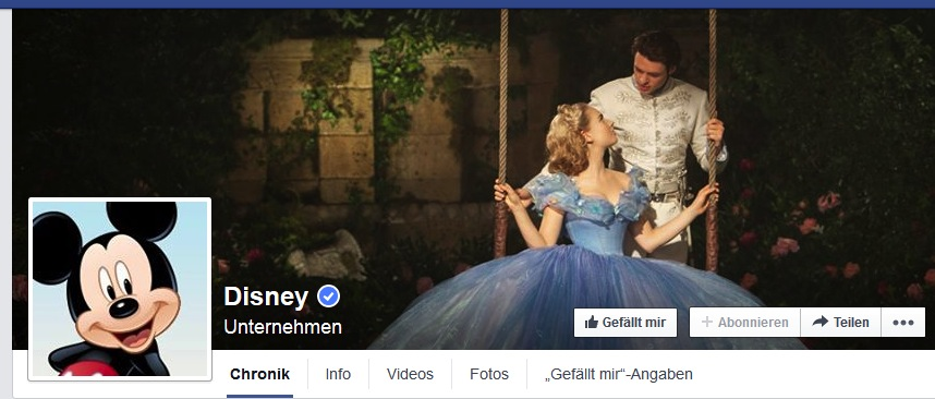 disney facebook cover foto