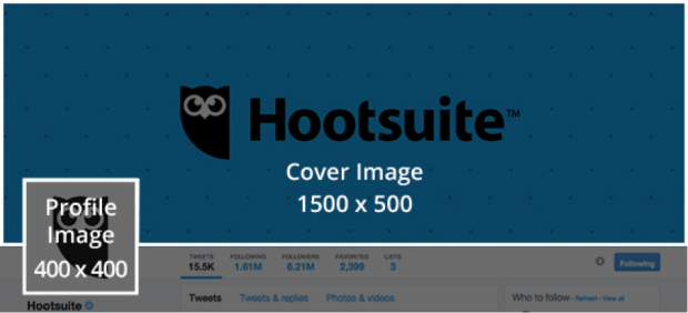 hootsuite twitter profile