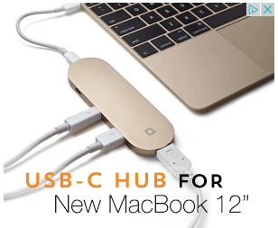 USB Mac Hub Display Ad