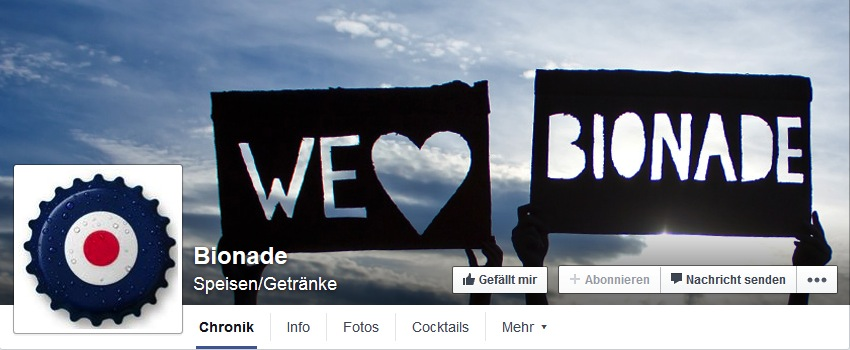 bionade facebook cover