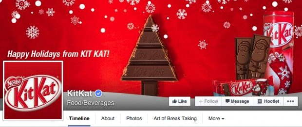 kitkat holiday facebook covber