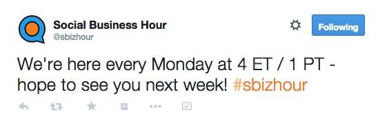 social business hour 5