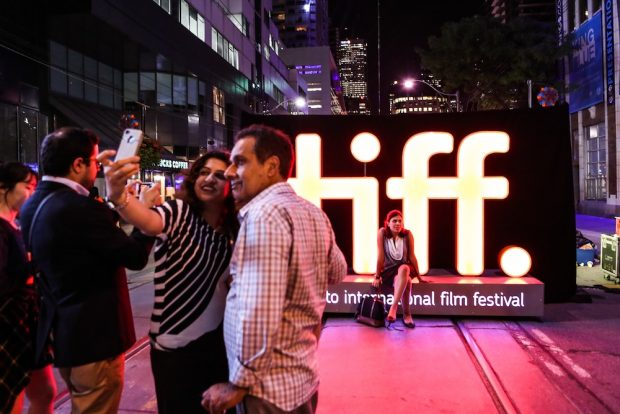 Festival 2014_Festival Street_TIFF sculpture__credit_Courtesy of TIFF