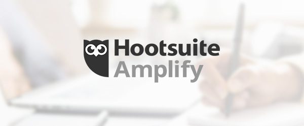 Hootsuite Amplify Blog Header