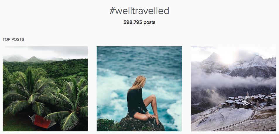 herschel supply #welltravelled hashtag on instagram
