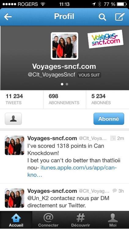 voyage sncf tweet