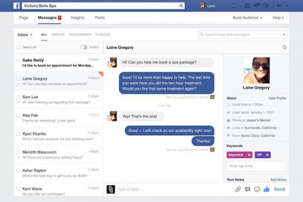 facebook-page-communication-tools