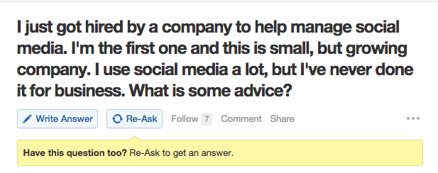 answering questions on quora for social media and seo