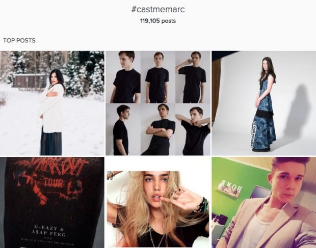 Marc Jacobs #casememarc user generated content