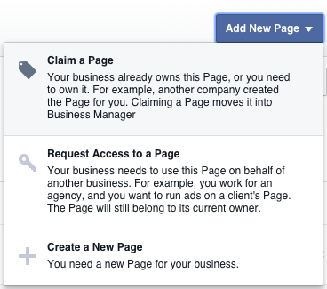 claim a business page for instagram
