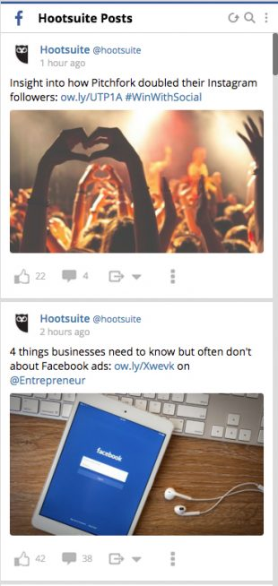 HootsuitePosts