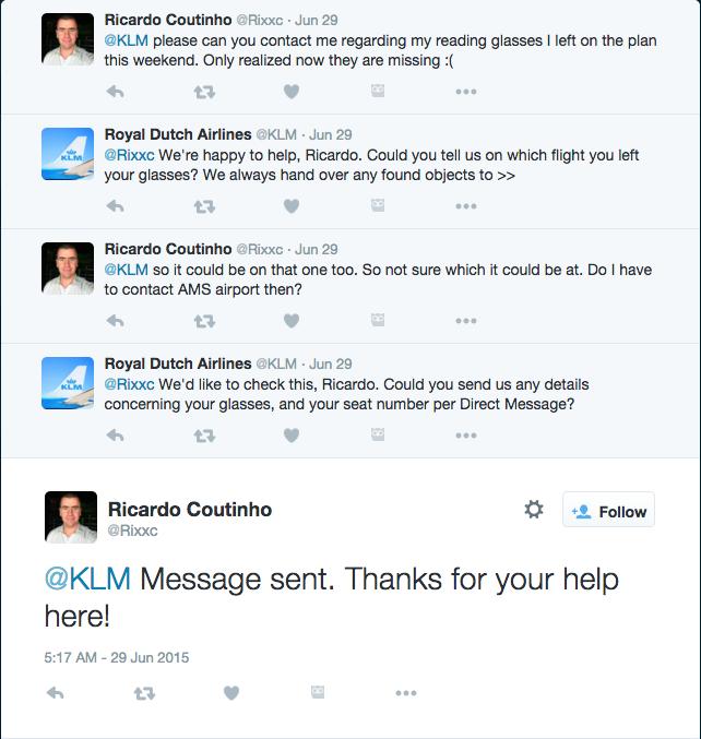 KLM-social-media-customer-service-twitter