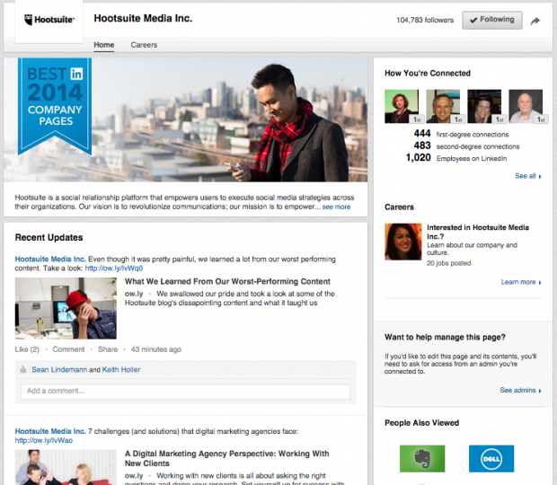 LinkedIn-Company-Pages