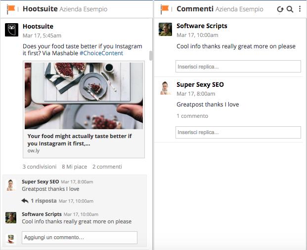 Monitora la concorrenza sui social media con Hootsuite 4