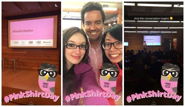 pinkshirtday-snapchats