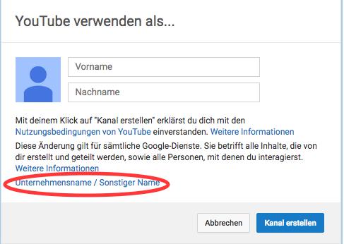YouTube Account Deutsch3