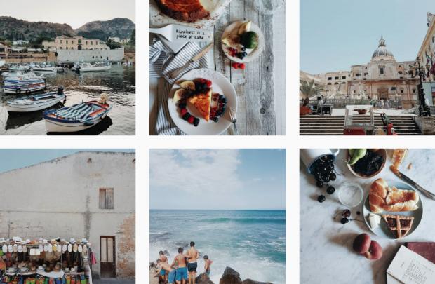 instagram per viaggiare