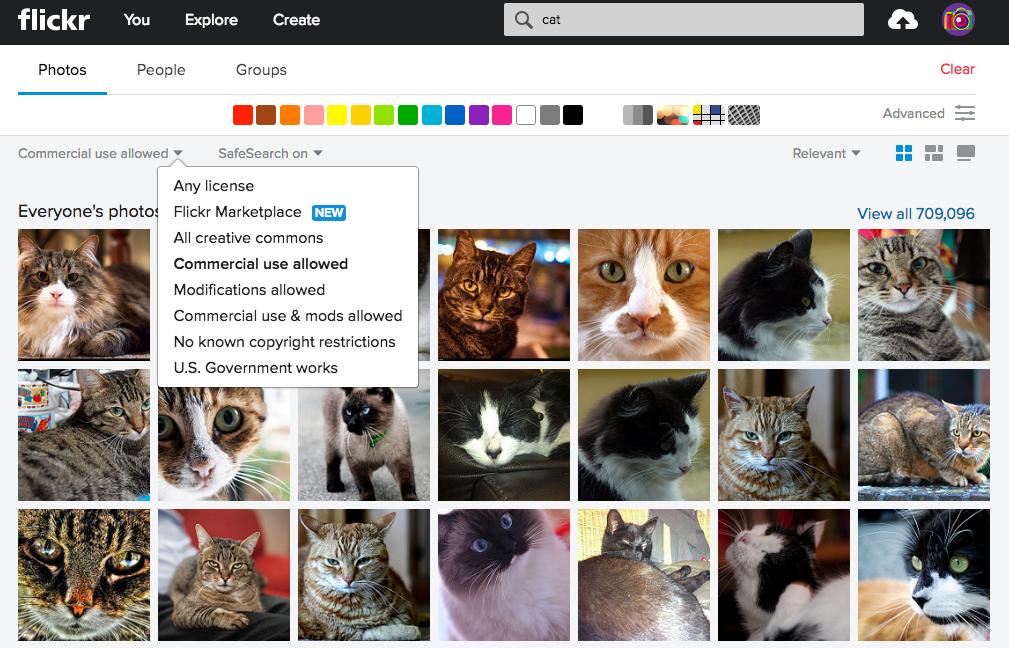 Derechos de autor via flickr - para uso en redes sociales y de propiedad intelectual libre