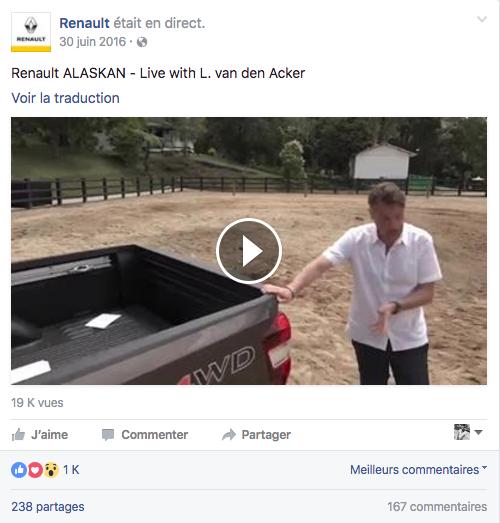 Facebook Live : un outil marketing strategique