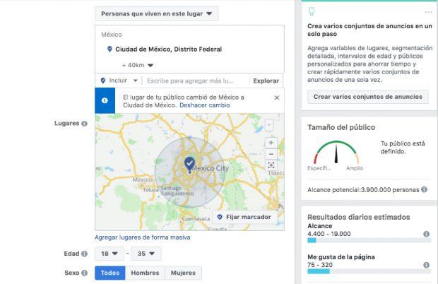 ES: Publicidad en Facebook - Power Editor CUATRO