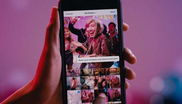 How Your Business Can Make the Most of Instagram's New Album Feature | Hootsuite Blog