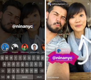 How to Use Instagram Stories: The Complete Guide for Business | Hootsuite Blog ES: Utiliza las historias de Instagram para incluir tus #'s y @ menciones