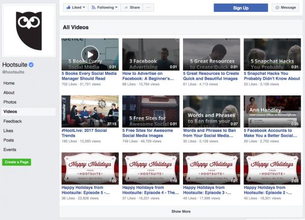 Optimizar El video social tiene efectos a largo plazo que podrás ver en tu galería de Facebook