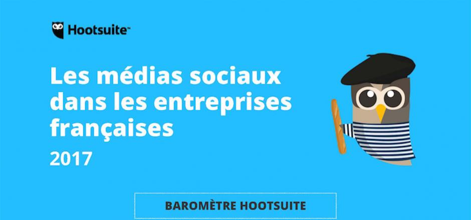 Baromètre Hootsuite 2017