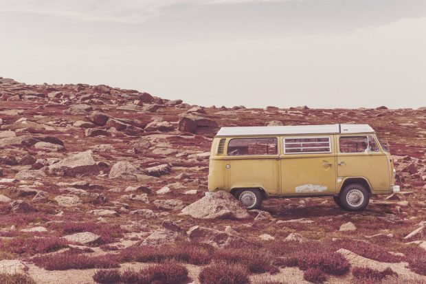 yellow-vw-van
