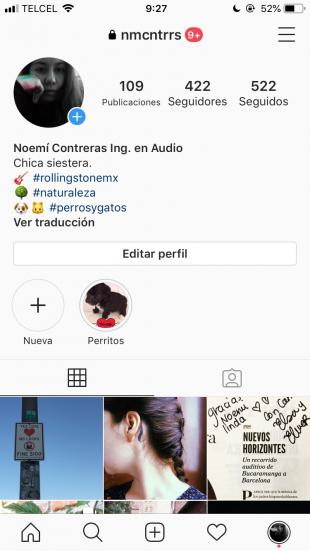 Consejos de Instagram - Incluye hashtags en tu biografía