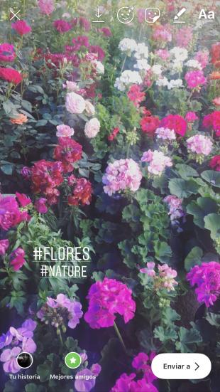 Oculta tus hashtags en las historias de Instagram