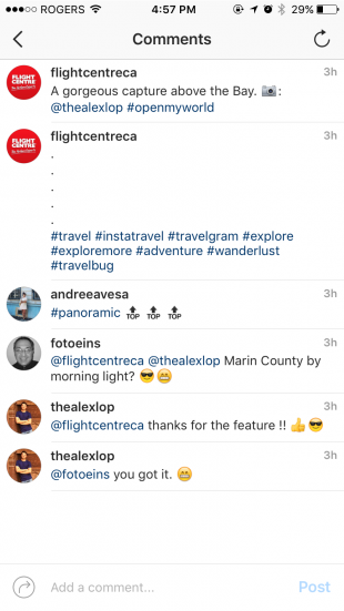 hide hashtags Instagram comments