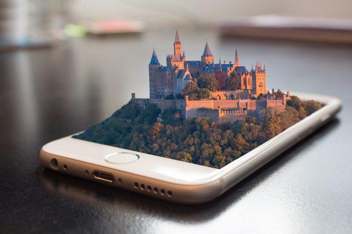 El castillo de la transformación digital en las redes sociales